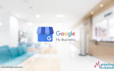 Google My Business para tu clínica